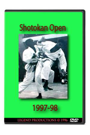 1997 & 1998 Shotokan Open - London